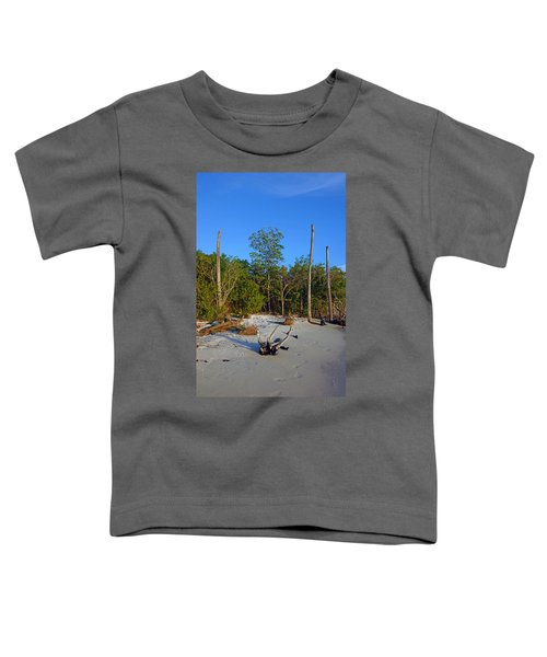 The Unspoiled Beauty Of Barefoot Beach In Naples - Portrait Toddler T-Shirt
