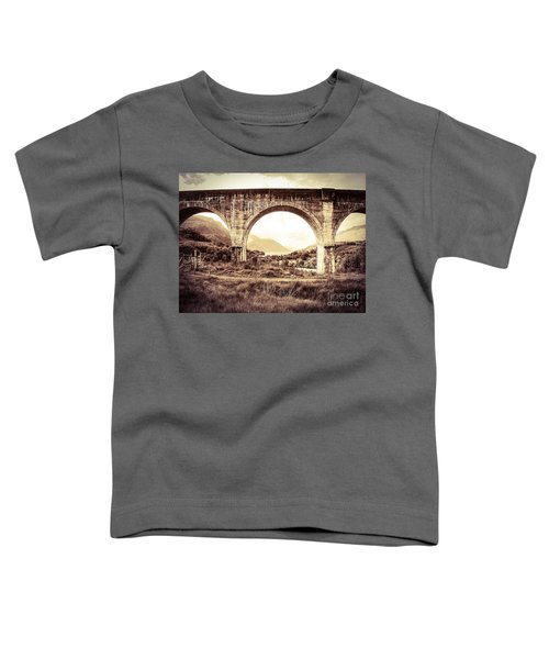 The Viaduct And The Loch Toddler T-Shirt