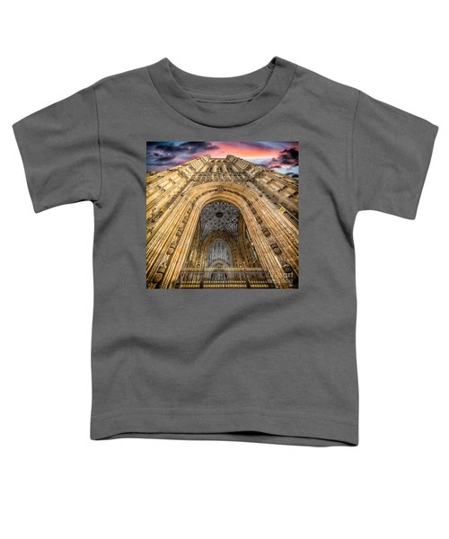 The Victoria Tower Toddler T-Shirt