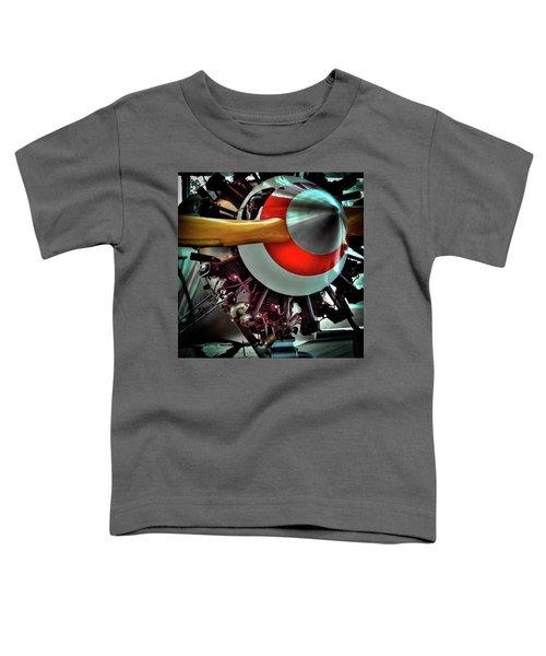 The Vintage Stearman C-3b Biplane Toddler T-Shirt