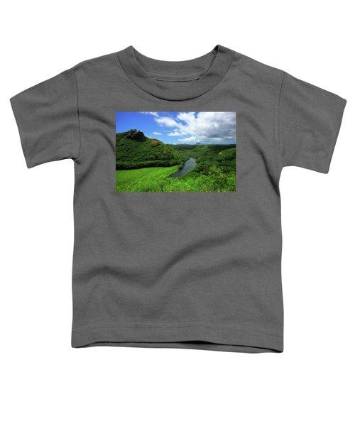 The Wailua River Toddler T-Shirt