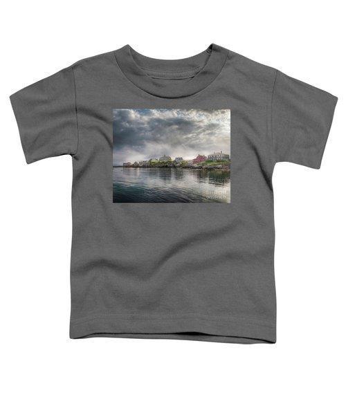 Monhegan Harbor View Toddler T-Shirt