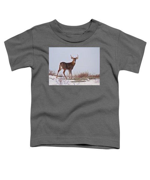 The Watchful Deer Toddler T-Shirt