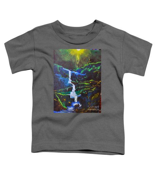 The Waterfall Toddler T-Shirt