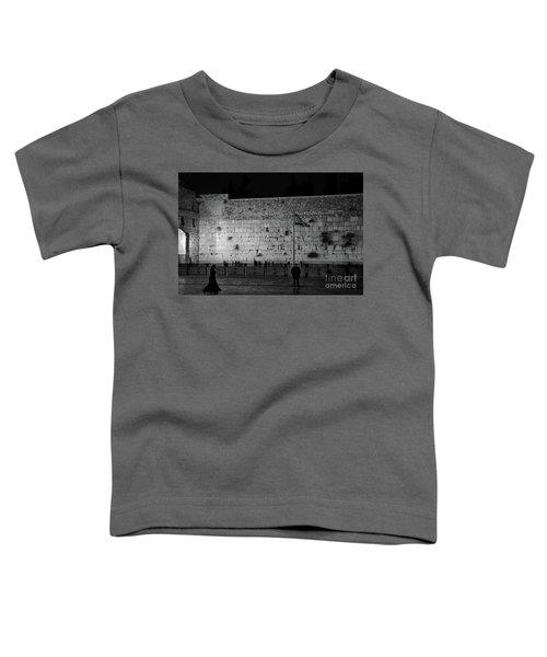 The Western Wall, Jerusalem Toddler T-Shirt