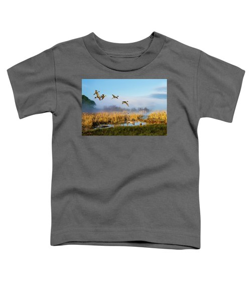 The Wetlands Crop Toddler T-Shirt