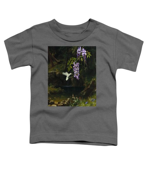 The White Hummingbird Toddler T-Shirt