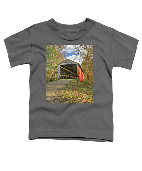 The Wilkins Mill Covered Bridge Toddler T-Shirt