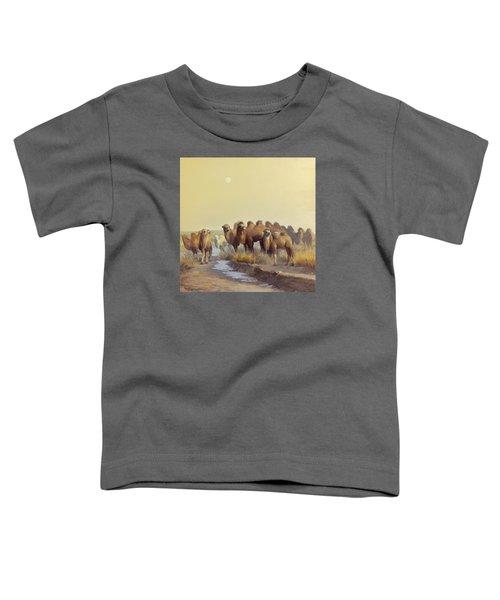 The Winter Of Desert Toddler T-Shirt
