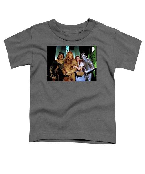 The Wizard Of Oz  Quartet Eric Carpenter Publicity Kodachrome 1939 Toddler T-Shirt