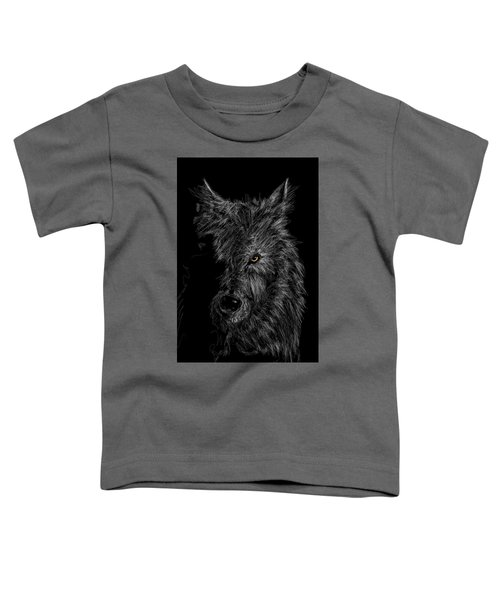 The Wolf In The Dark Toddler T-Shirt