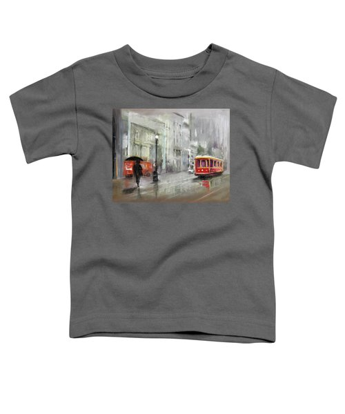 The Woman In The Rain Toddler T-Shirt