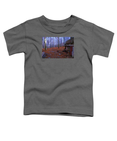 The Wood A La Magritte - Il Bosco A La Magritte Toddler T-Shirt