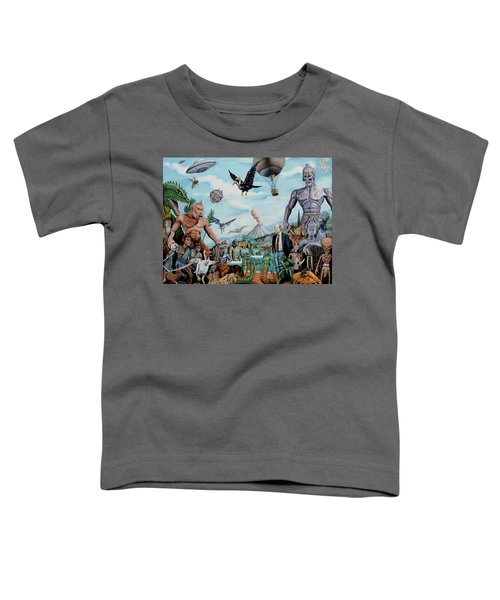 The World Of Ray Harryhausen Toddler T-Shirt