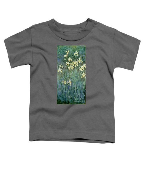 The Yellow Irises Toddler T-Shirt