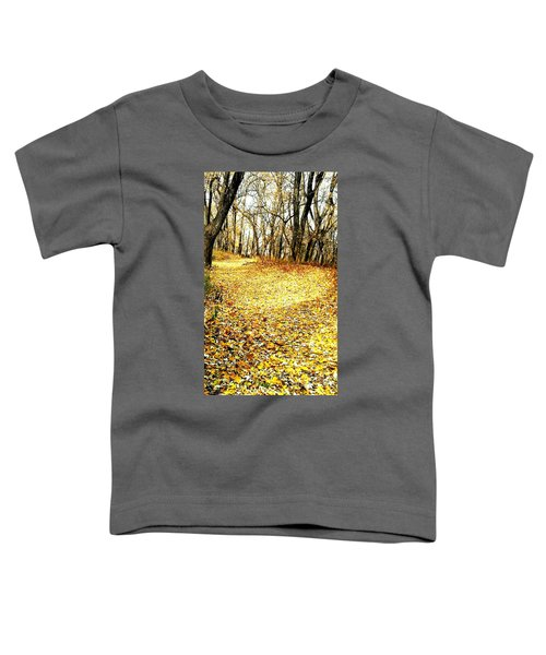 The Yellow Leaf Road Toddler T-Shirt