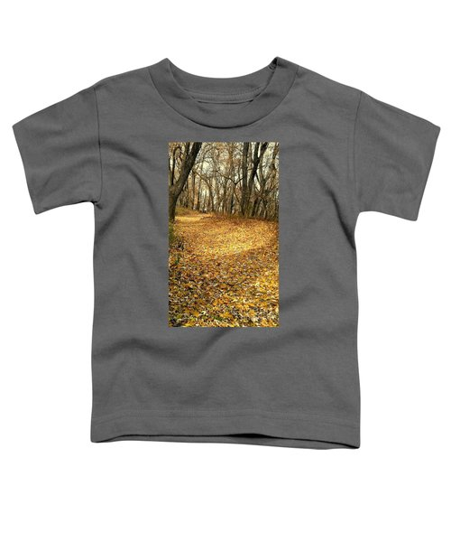 The Yellow Leaf Road- Version II  Toddler T-Shirt