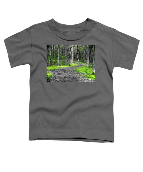 The Yellow Marsh Marigolds Of Spring Toddler T-Shirt