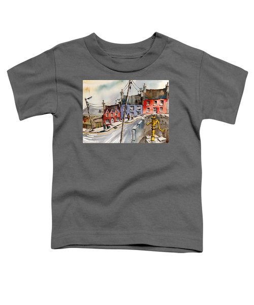 The Yellow Pump, Eyeries, Cork Toddler T-Shirt
