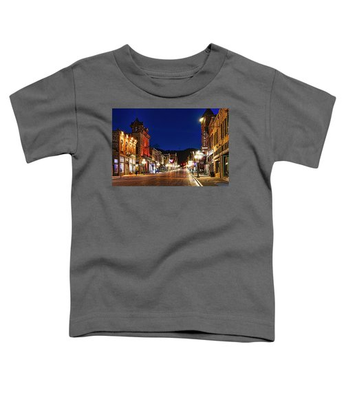 Then And Now Toddler T-Shirt
