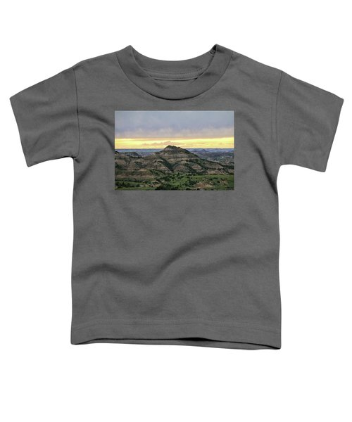Theodore Roosevelt National Park, Nd Toddler T-Shirt