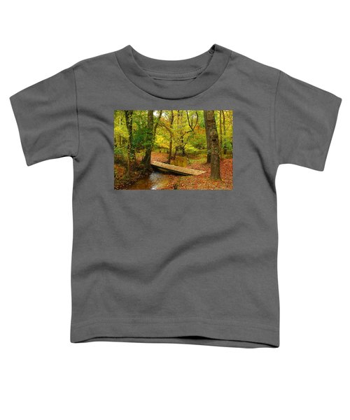 There Is Peace - Allaire State Park Toddler T-Shirt