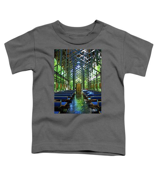 Thorncrown Chapel Serenity Toddler T-Shirt