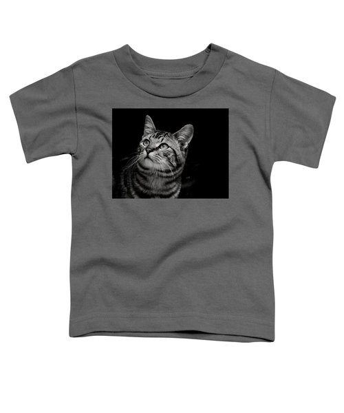 Thoughtful Tabby Toddler T-Shirt