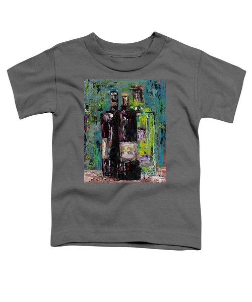 Three Bottles Of Wine Toddler T-Shirt