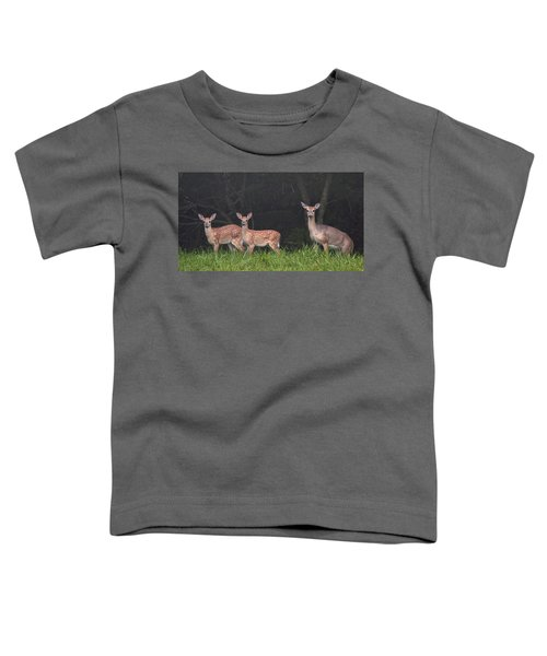 Three Does Toddler T-Shirt