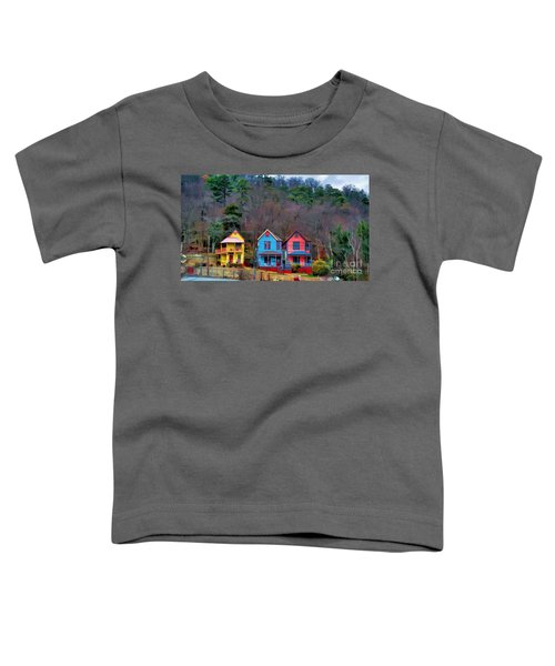 Three Houses Hot Springs Ar Toddler T-Shirt
