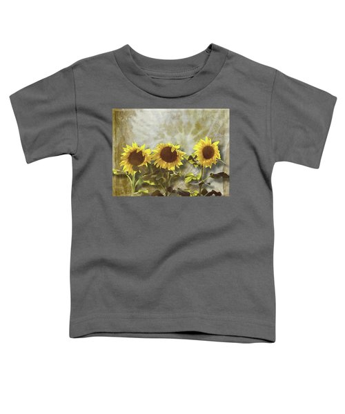 Three In The Sun Toddler T-Shirt