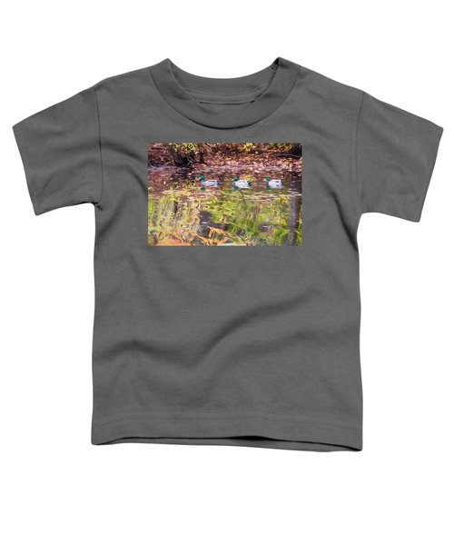 Three Mallards. Toddler T-Shirt
