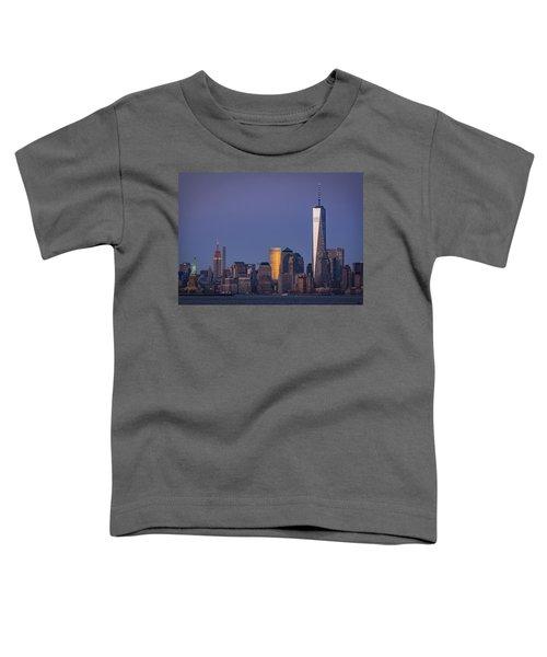 Three New York Symbols Toddler T-Shirt