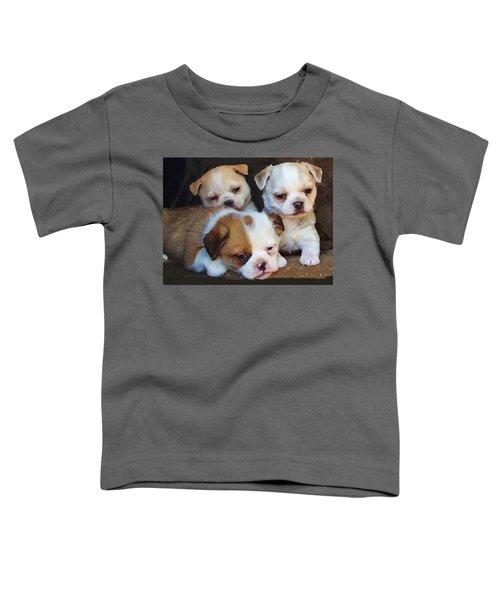 Three Sweeties Toddler T-Shirt