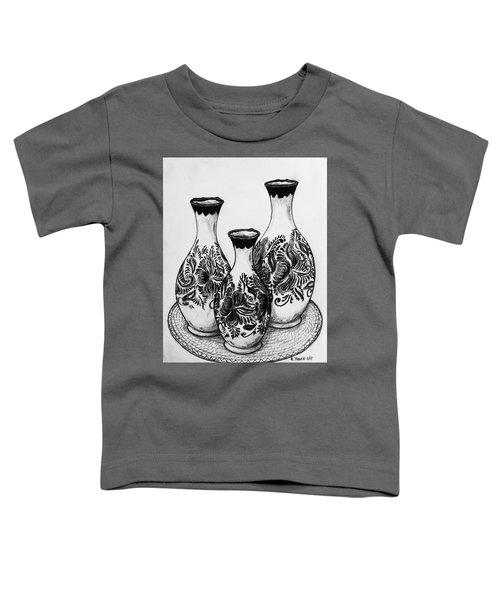 Three Vases Toddler T-Shirt