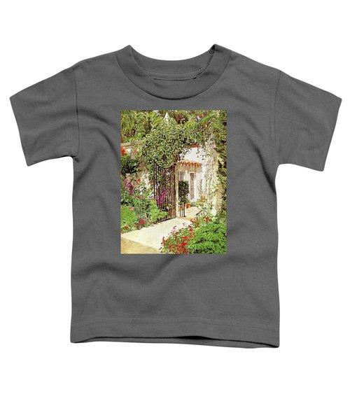 Through The Garden Gate Toddler T-Shirt