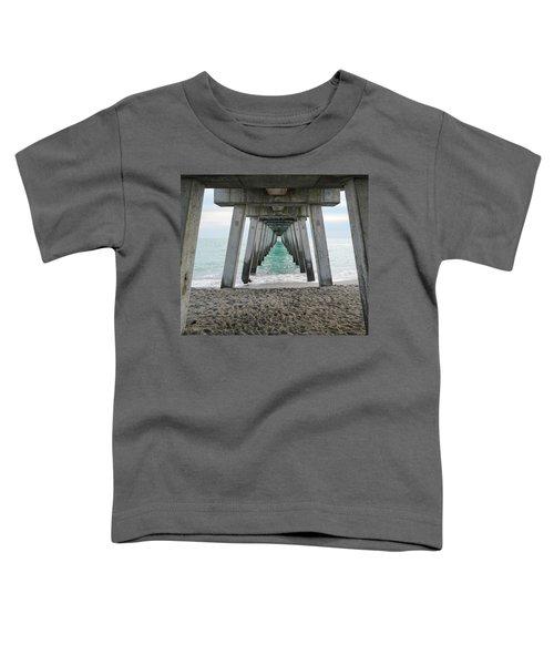 Through The Legs Toddler T-Shirt