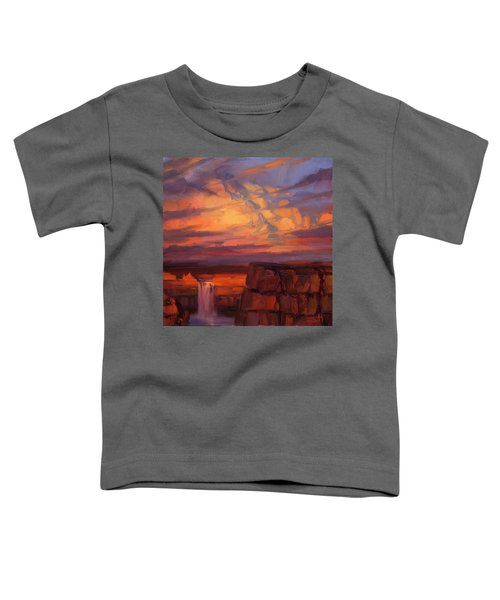 Thundercloud Over The Palouse Toddler T-Shirt