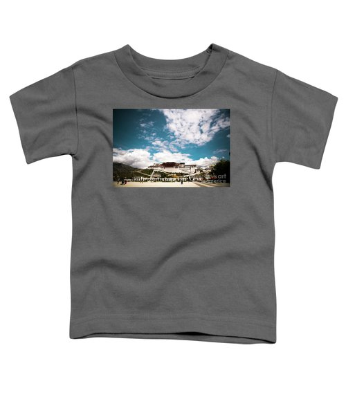 Tibet Potala Palace Dalai Lama Home Place. Kailash Yantra.lv 2016  Toddler T-Shirt
