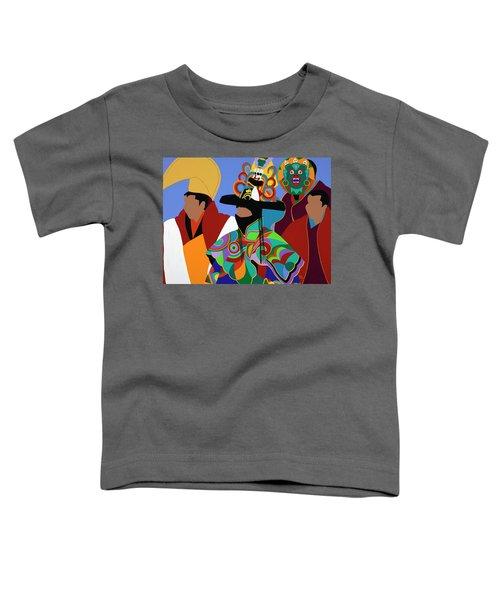 Tibetan Monks Cham Dancer Toddler T-Shirt