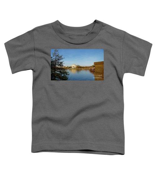 Tidal Basin And Jefferson Memorial Toddler T-Shirt by Megan Cohen