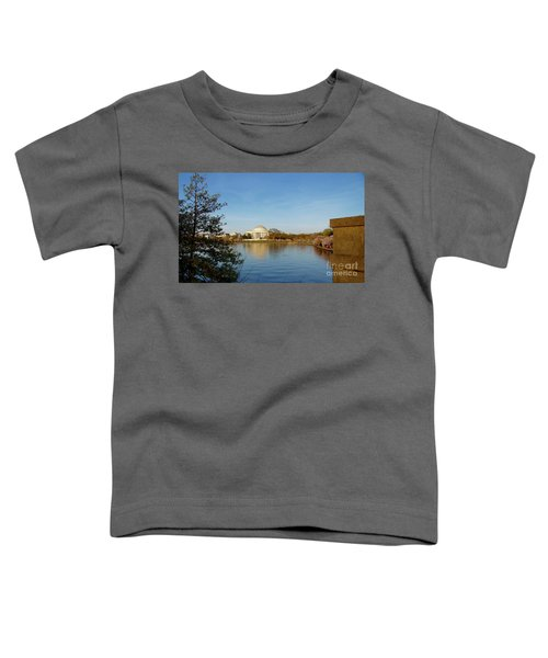 Tidal Basin And Jefferson Memorial Toddler T-Shirt
