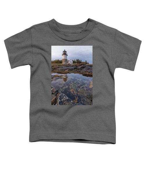 Tide Pools At Marshall Point Lighthouse Toddler T-Shirt