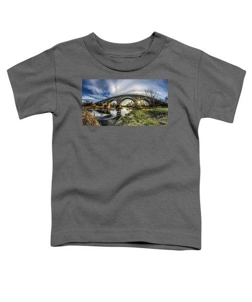 Tiffany Bridge Panorama Toddler T-Shirt