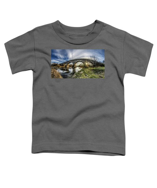 Tiffany Bridge Panorama Toddler T-Shirt