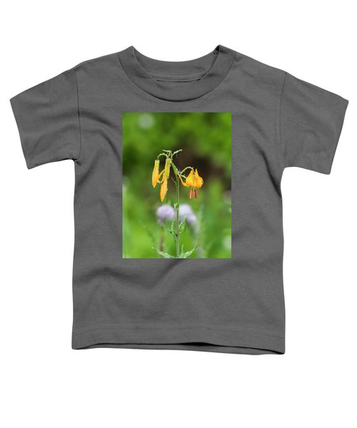 Tiger Lily In Olympic National Park Toddler T-Shirt
