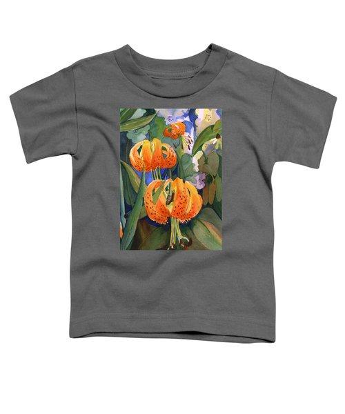Tiger Lily Parachutes Toddler T-Shirt