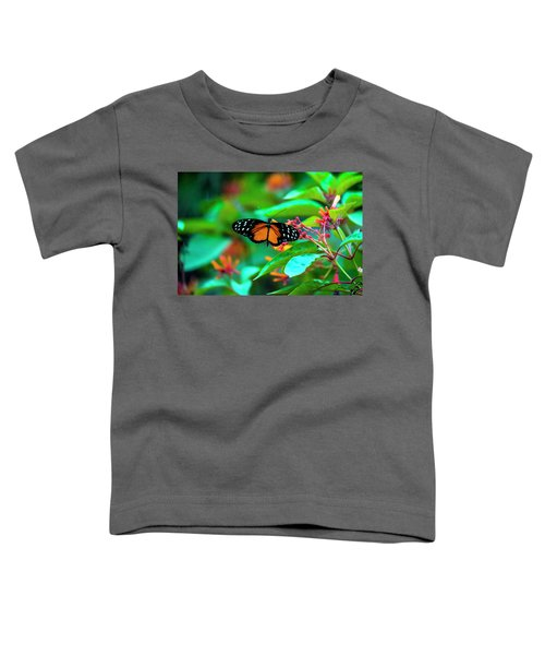 Tiger Longwing Butterfly Toddler T-Shirt