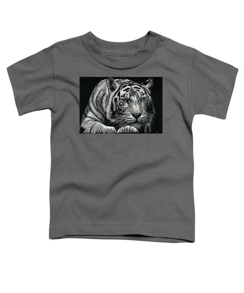 Tiger Pause Toddler T-Shirt